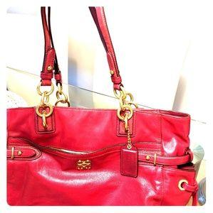 Fuchsia Limited Edition Coach Tote Bag